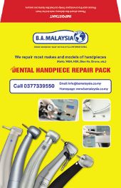 envelope handpiece repair